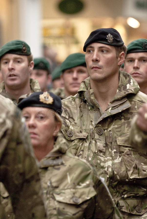 Download Soldiers From 3 Commando Brigade Marching Editorial Image - Image: 22063250