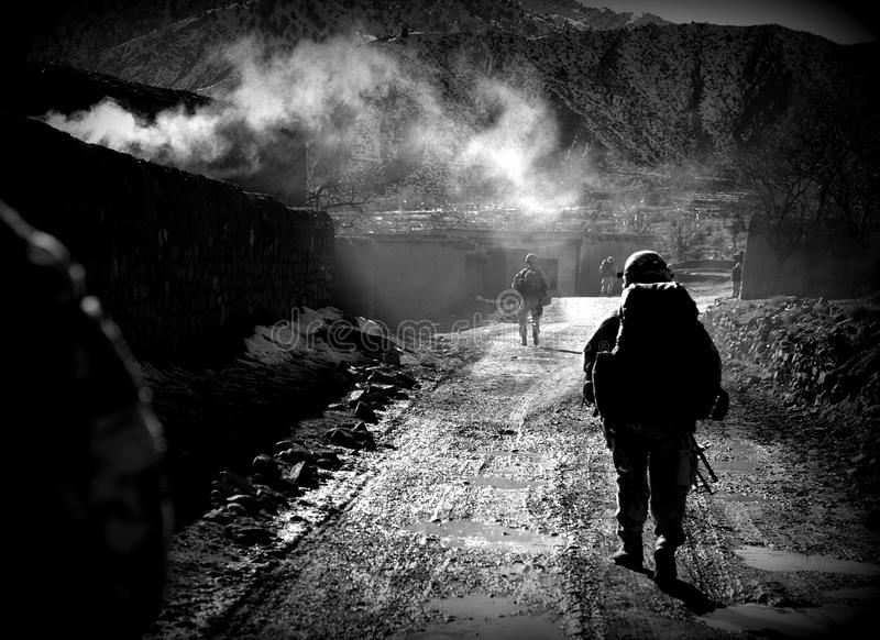 Soldiers In Afghanistan Editorial Photography