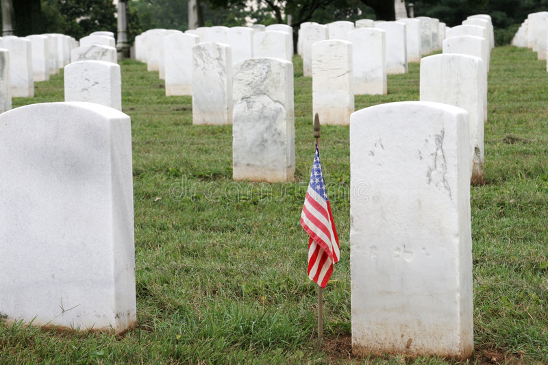 Soldiers Grave Royalty Free Stock Image