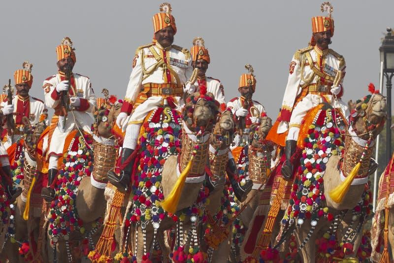 Republic Day Parade, New Delhi, India royalty free stock photos