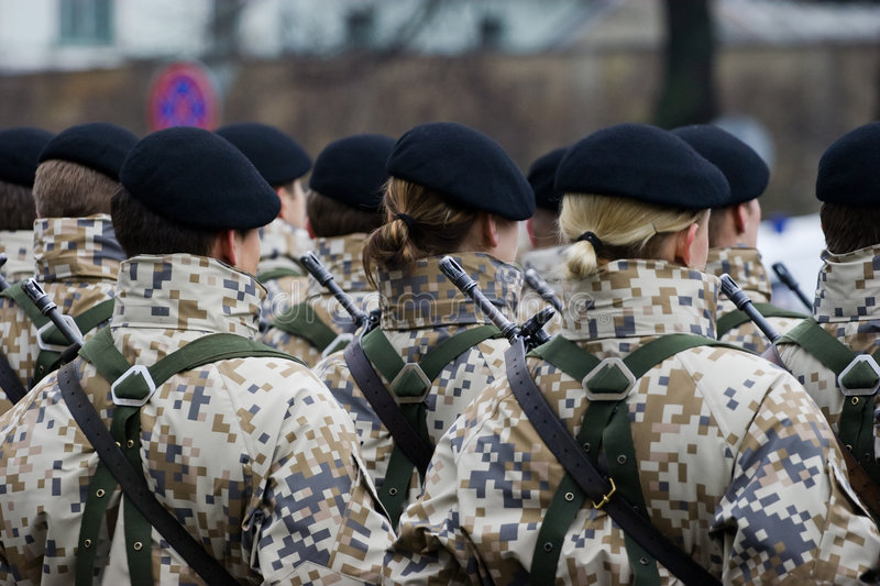 Download Soldiers At The Military Parade Editorial Image - Image: 5144190