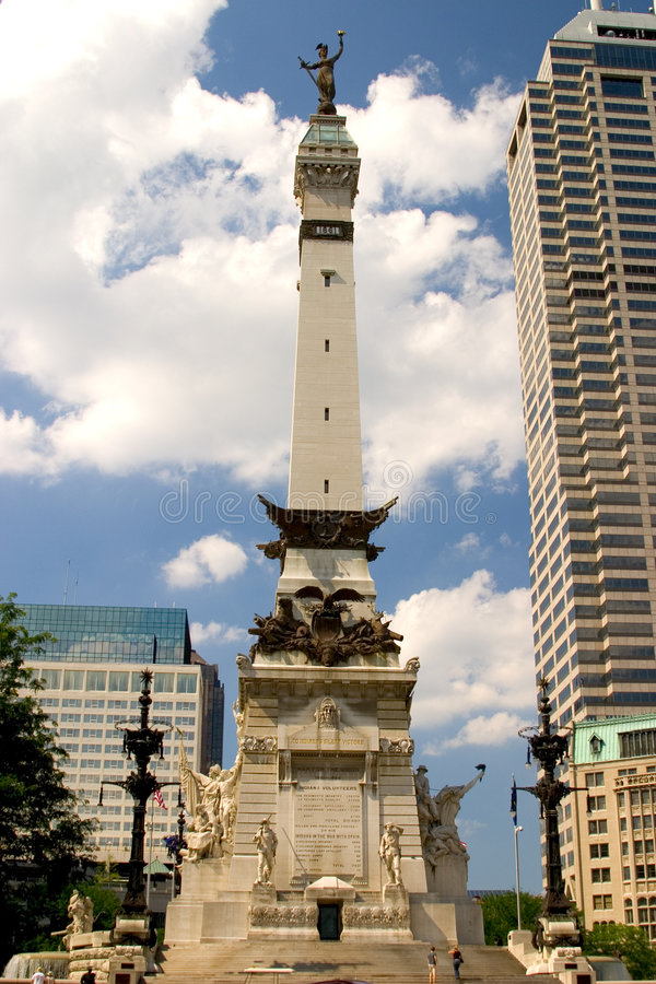 Soldiers and Sailors Monument royalty free stock images
