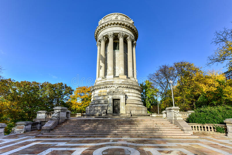 Soldiers and Sailors Monument - NYC. The Soldiers` and Sailors` Memorial Monument in Riverside Park in the Upper West Side of Manhattan, New York City royalty free stock photo