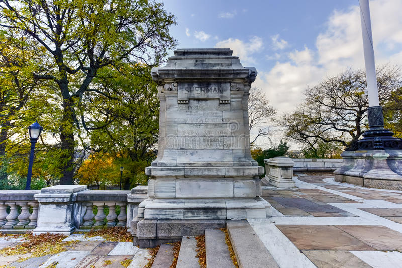 Soldiers and Sailors Monument - NYC. The Soldiers` and Sailors` Memorial Monument in Riverside Park in the Upper West Side of Manhattan, New York City royalty free stock photography