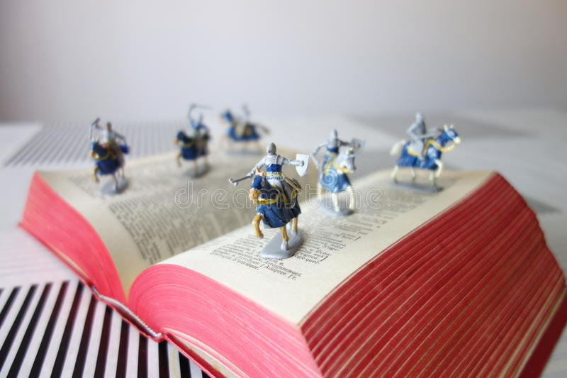 Soldiers from the story books(II). Taken on the 23th of June of 2016 royalty free stock photography