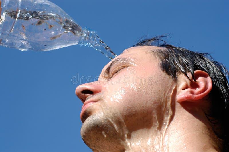 Download Sole caldo di estate fotografia stock. Immagine di casuale - 218926