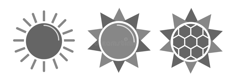 Sole di vettore fotografia stock libera da diritti