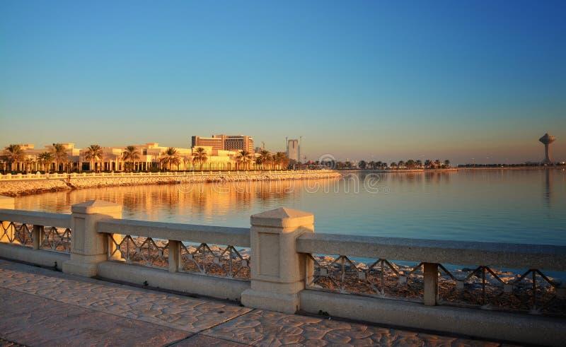 Sole dorato di Khobar fotografia stock libera da diritti