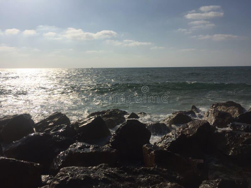 Sole e divertimento del mare immagini stock libere da diritti