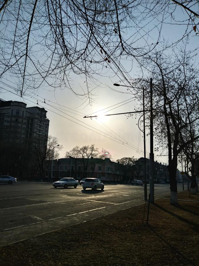 Sole luminoso immagini stock