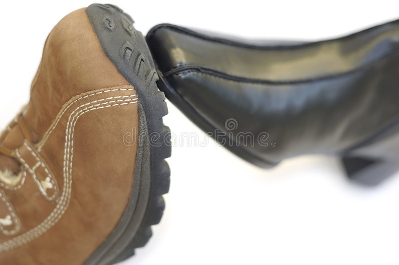 Download Sole Mates stock photo. Image of objects, brown, sole - 9064640