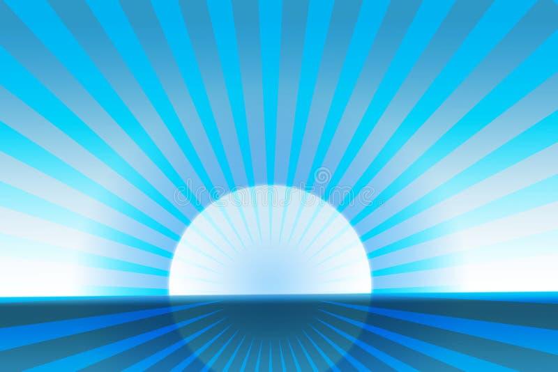 Sole polare royalty illustrazione gratis