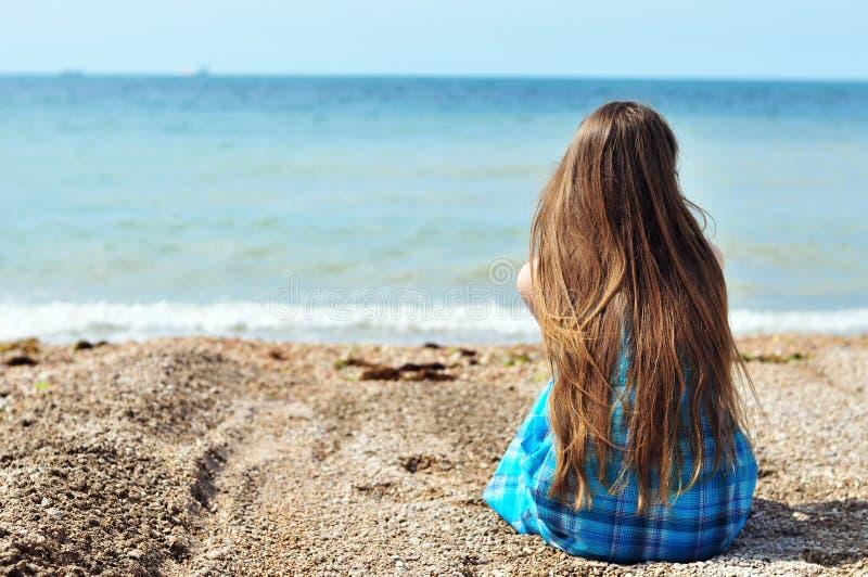 Soledad cerca del mar fotografía de archivo