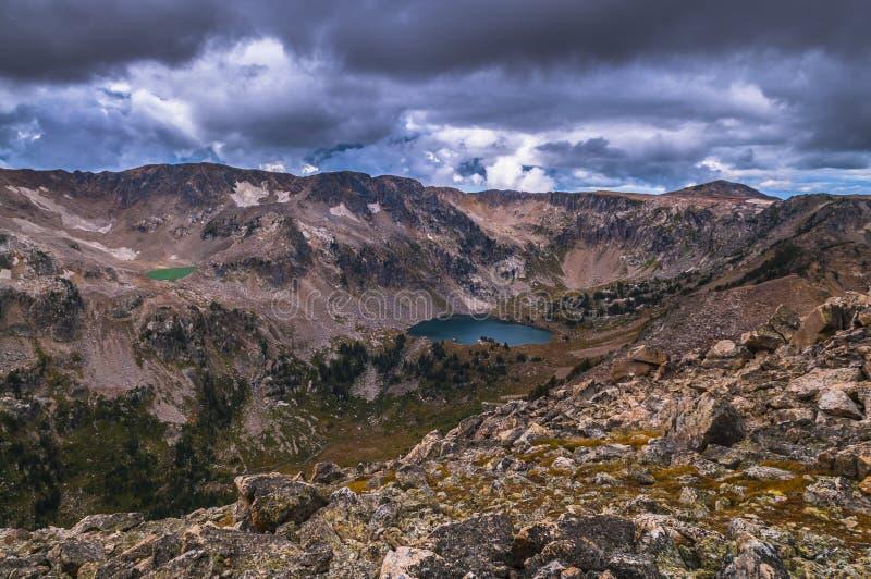 Soledad Tetons magnífico del lago fotos de archivo