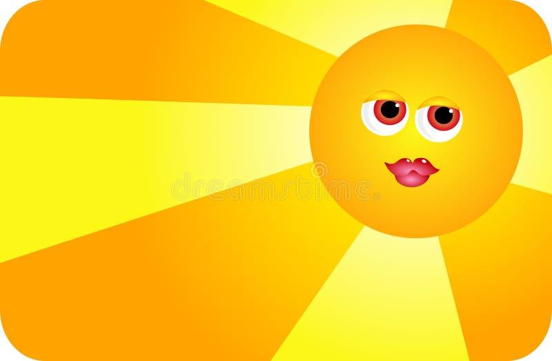 Soleil illustration de vecteur