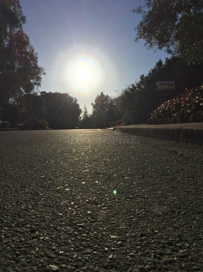 Soleil de la Californie images stock