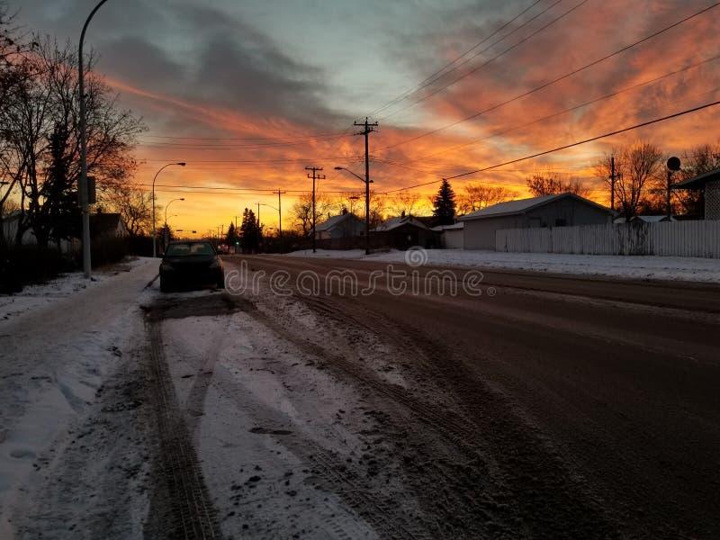 Soleil de matin photos libres de droits