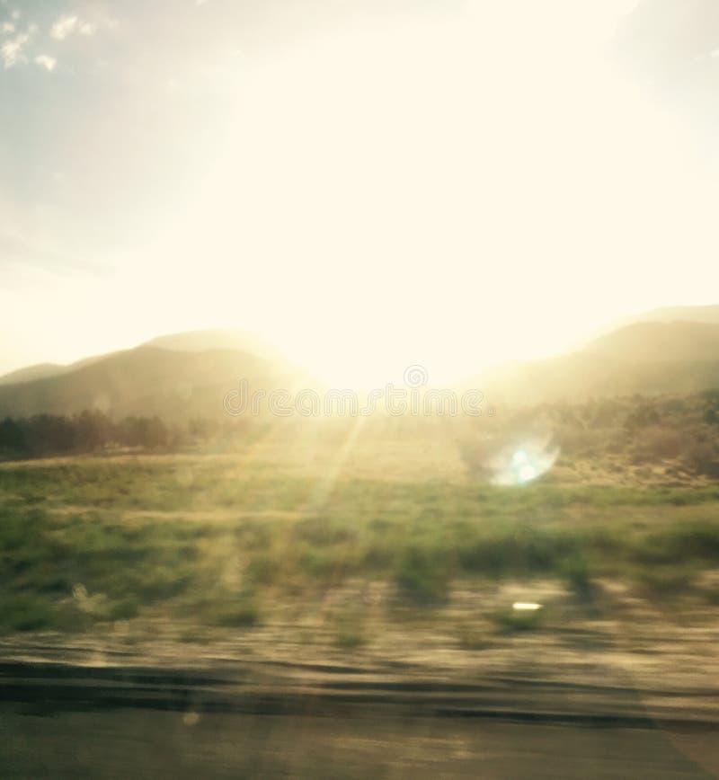 Soleil de matin photographie stock