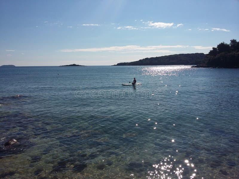 Soleil de mer de plage photo libre de droits