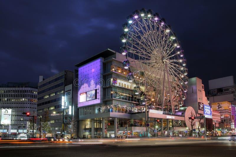 Soleil Sakae, Nagoya, Japon image stock