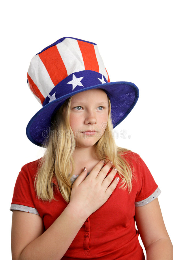 Download Solemn Pledge stock photo. Image of fourth, holiday, hand - 2440950