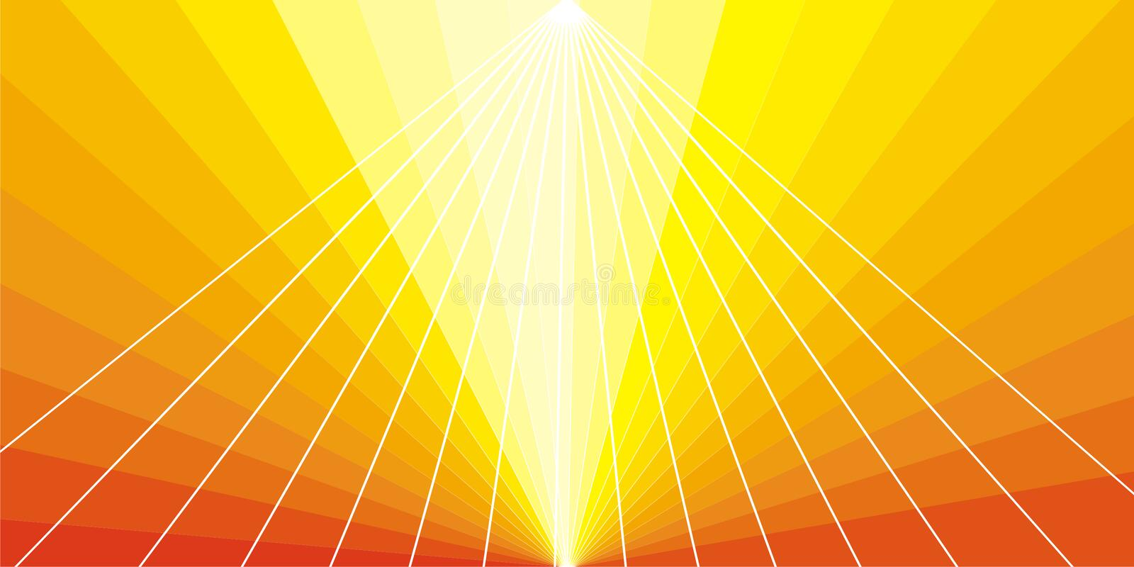 Download Solemn shining rays stock vector. Illustration of glitter - 6397719