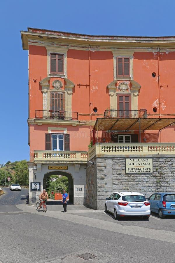 Solfatara Италия стоковое фото