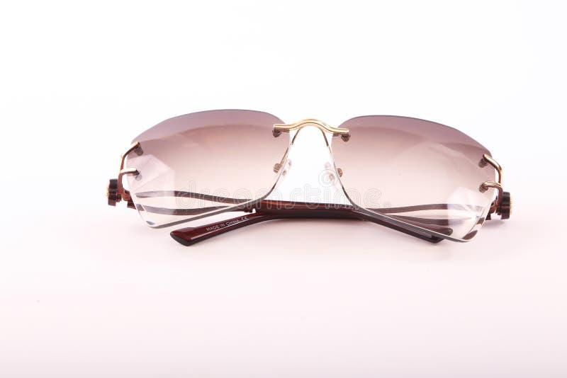 Solglasögon för moderna kvinnor royaltyfri fotografi