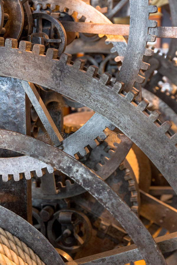 Solid gear royalty free stock photo
