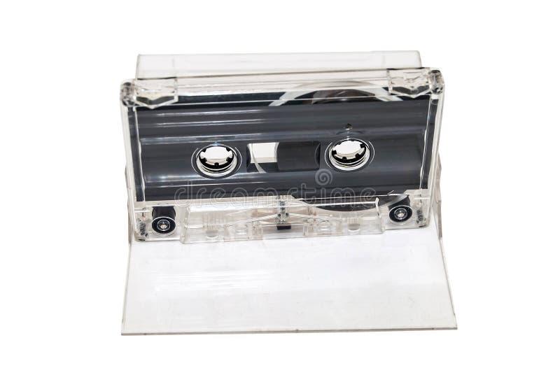 Solid isolerad kassettmusik fotografering för bildbyråer