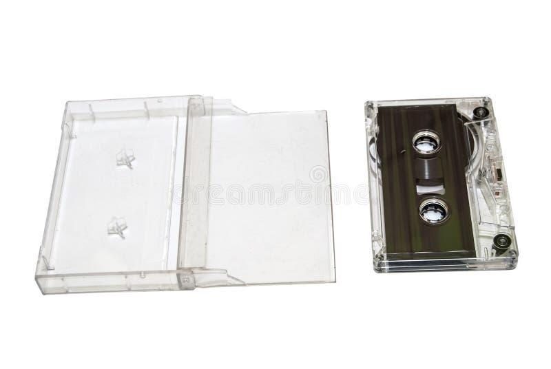Solid isolerad kassettmusik royaltyfri bild
