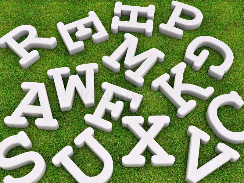 Download Solid letters stock illustration. Illustration of font - 19136321