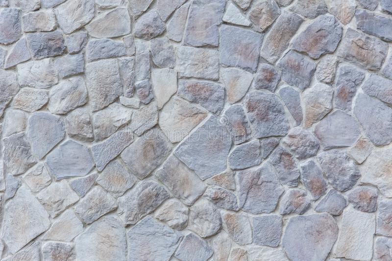 Solid rock new clean stone pattern wall nature pattern stock image