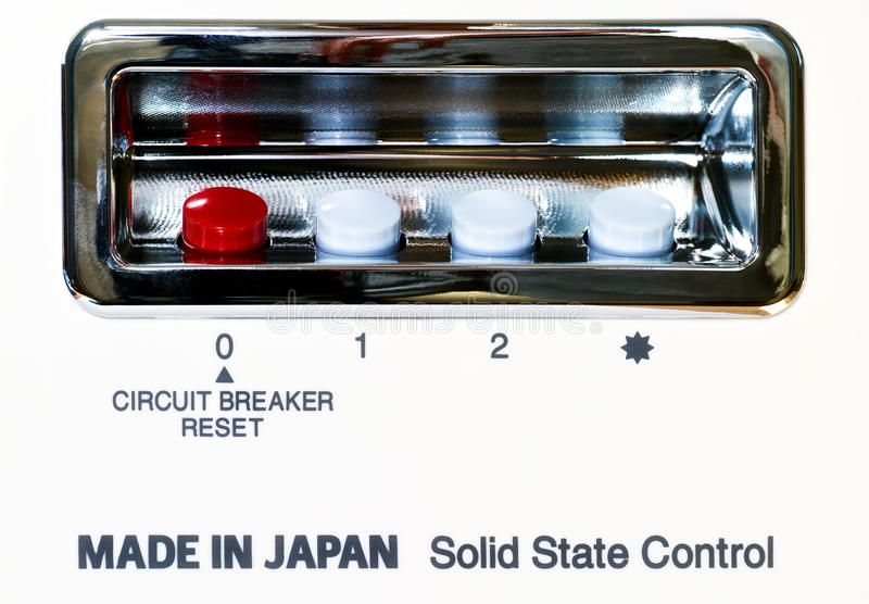Solid state control royalty free stock photography