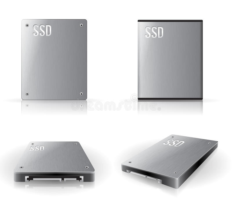 Solid State Drive Royalty Free Stock Photography