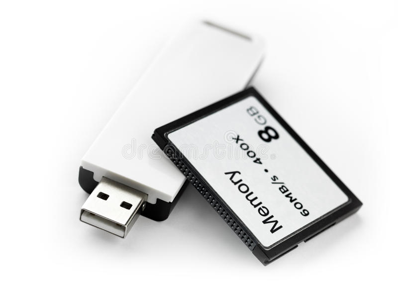 Solid State Memory Royalty Free Stock Images