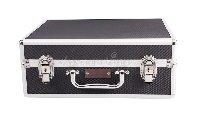 Download Solid suitcase stock image. Image of packing, single, keyhole - 7544859