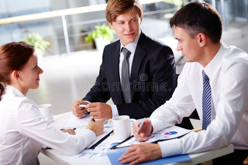 Solid Team Royalty Free Stock Images