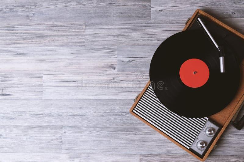 Solid teknologi för tappning för discjockey arkivbilder