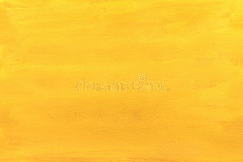 Canvas covered with bright yellow paint. abstraction royalty free stock photos