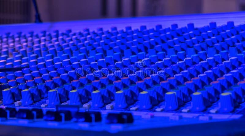 Solida anteckna direktörs konsol Solid kontrollant Avlägsen direktör arkivfoto