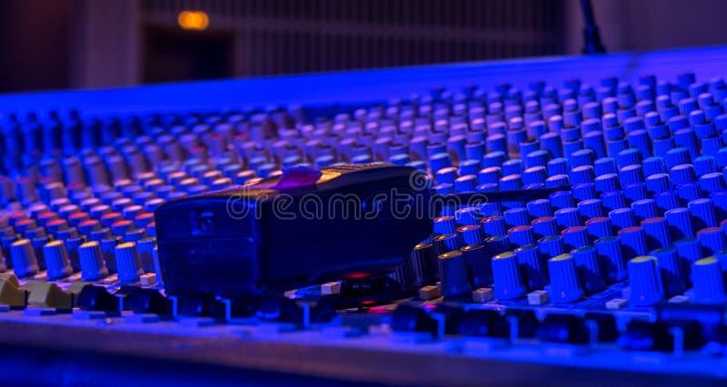 Solida anteckna direktörs konsol Solid kontrollant Avlägsen direktör royaltyfri bild