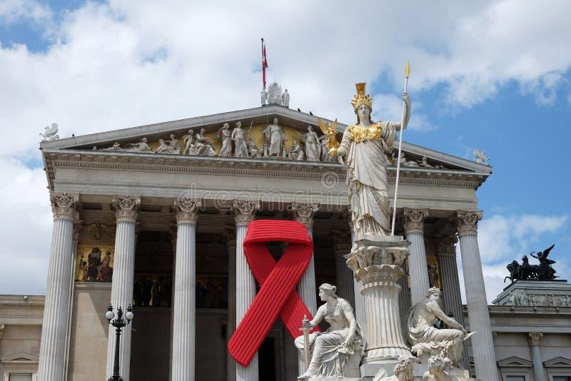 Solidariedade com HIV/AIDS foto de stock royalty free