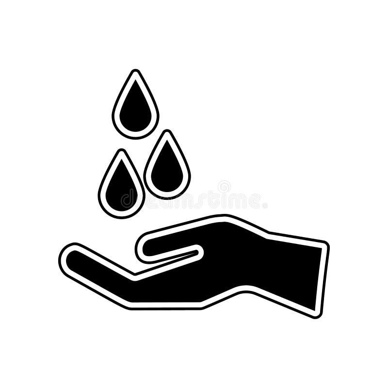 Solidaritätsikone Element der Blutspende für bewegliches Konzept und Netz Appsikone Glyph, flache Ikone für Websiteentwurf und stock abbildung