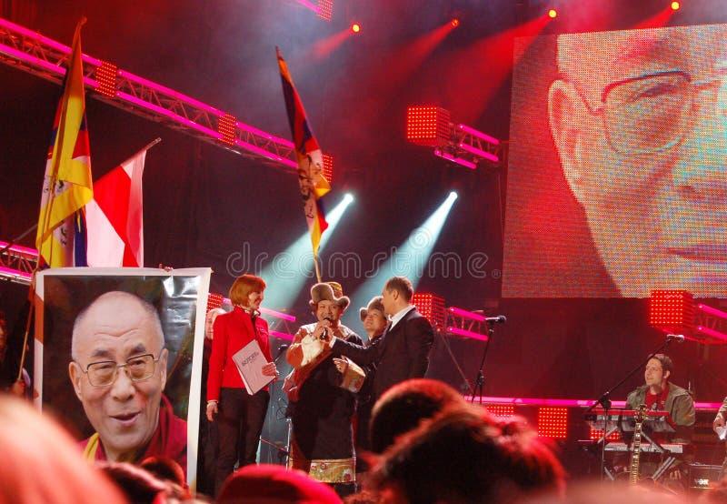 Solidarité de concert avec le Belarus 2008 photos stock