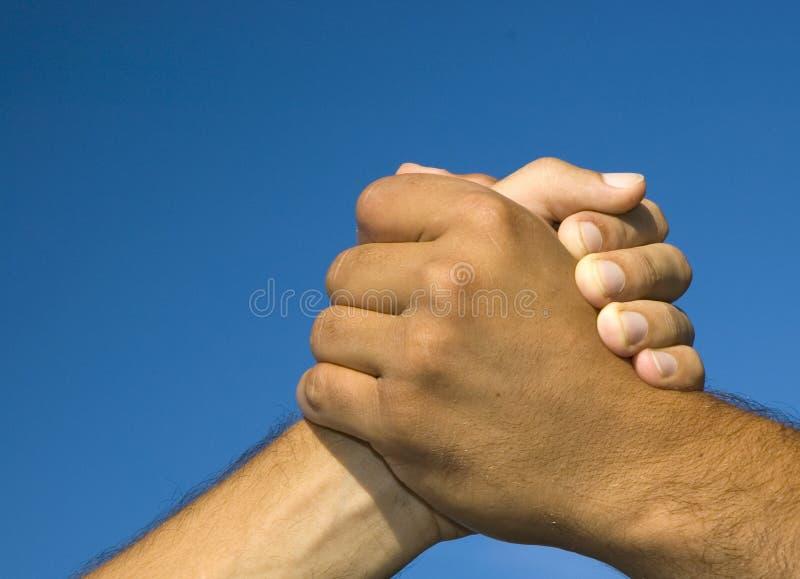 Solidariteit en vrede stock fotografie