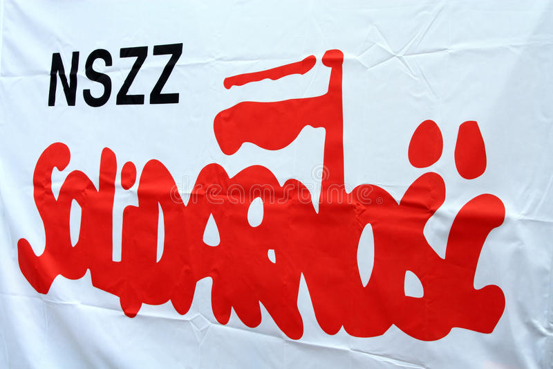 Solidarity logo royalty free stock photography