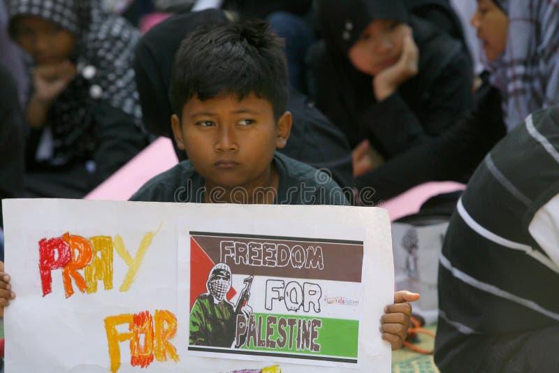 Solidarity of palestinian stock photos