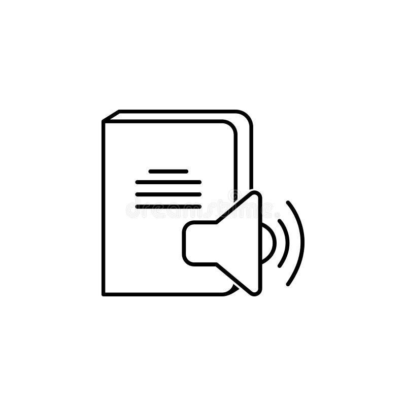 Solide Buchikone Element des Wissens für bewegliche Konzept und Netz apps Dünne Linie Ikone für Websitedesign und -entwicklung; A vektor abbildung