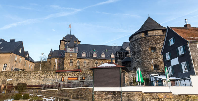 solingen Allemagne de burg de château photographie stock libre de droits
